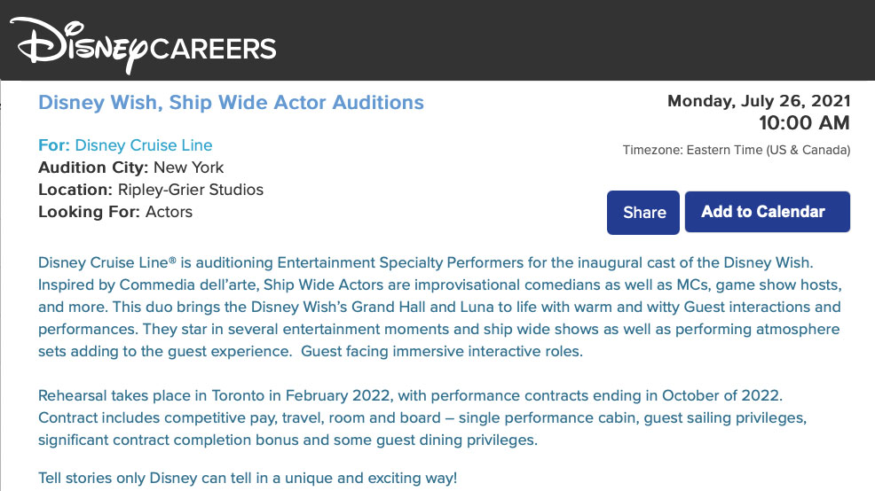 DCL Wish Auditions 20210718