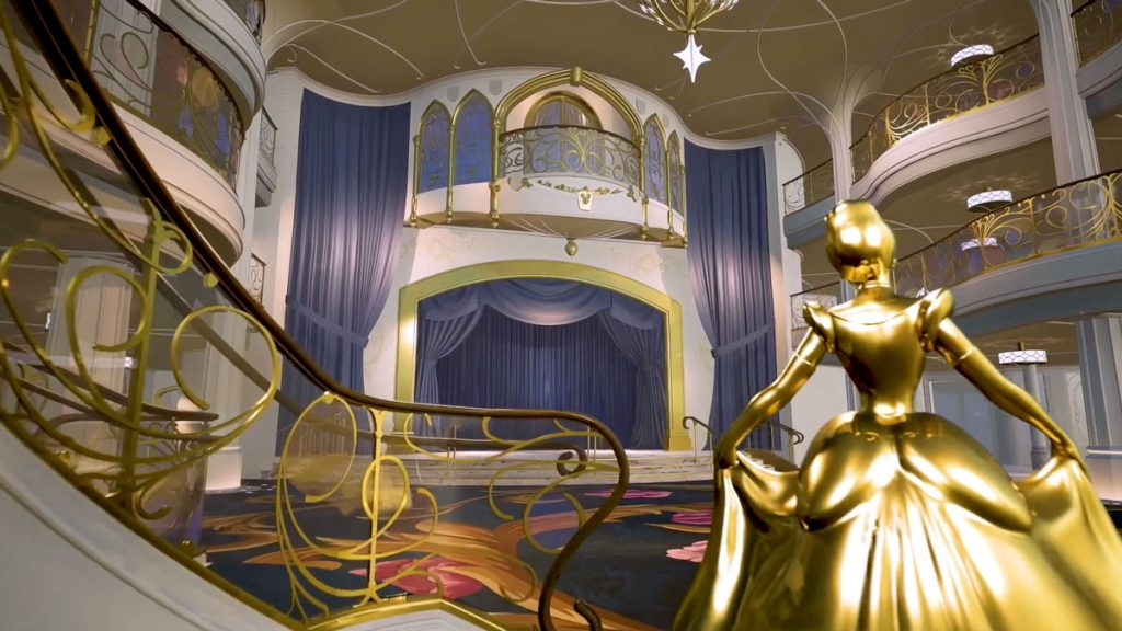 DCL Wish Grand Hall Stage 1