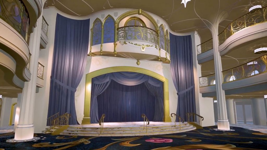 DCL Wish Grand Hall Stage 2