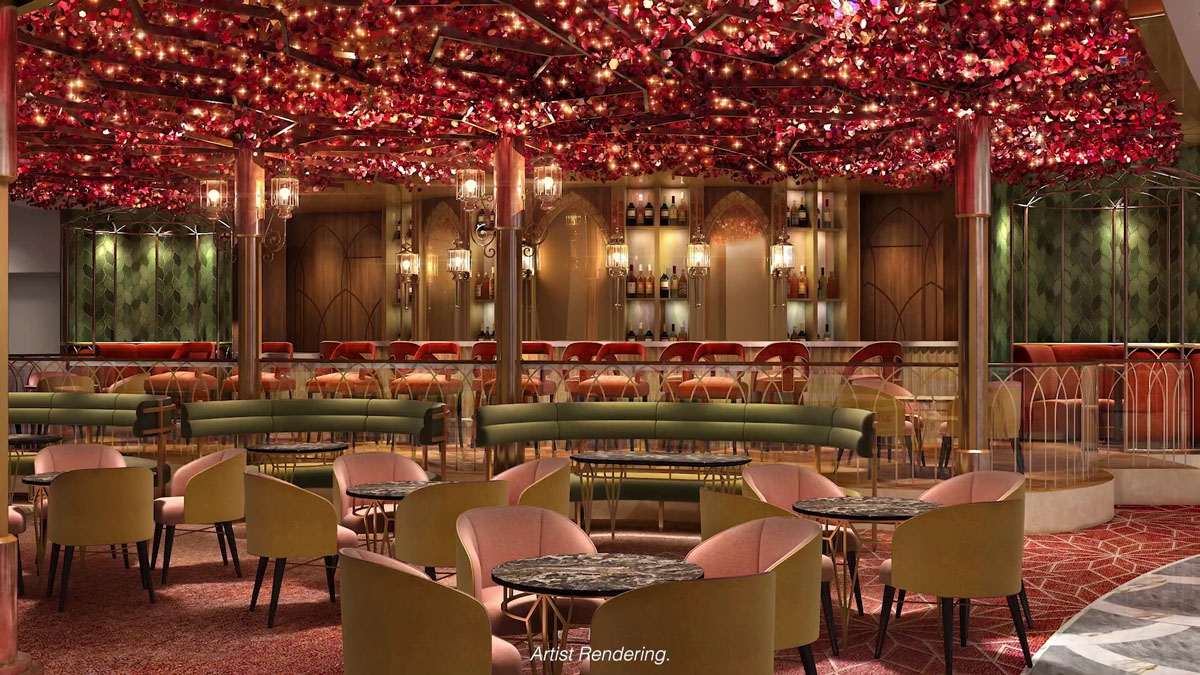Disney Wish The Bayou Lounge