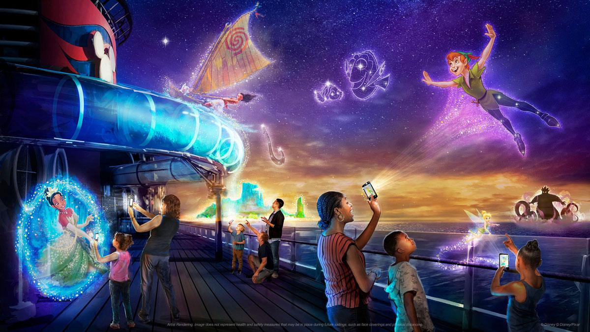DCL Disney Wish Disney Uncharted Adventure