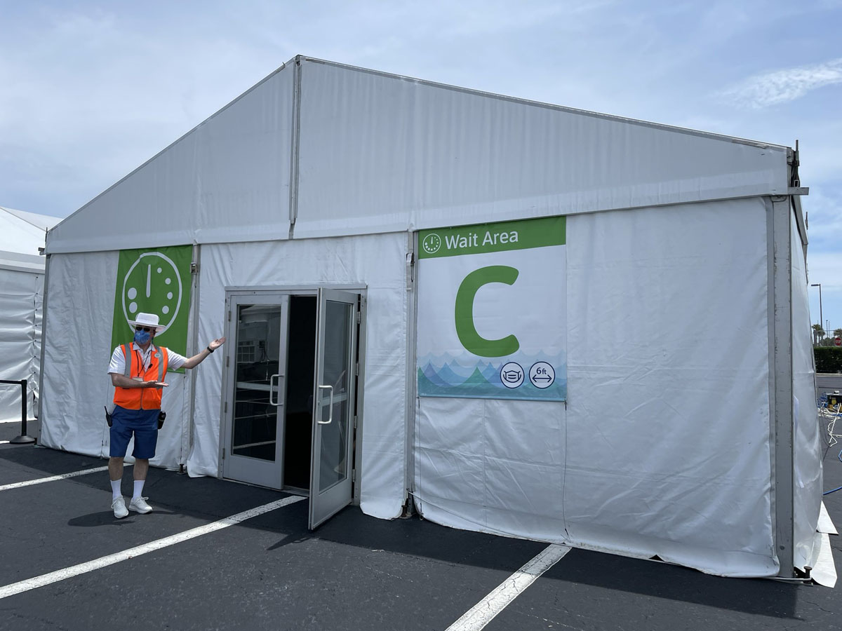 Dream Embarkation Testing Tent 1