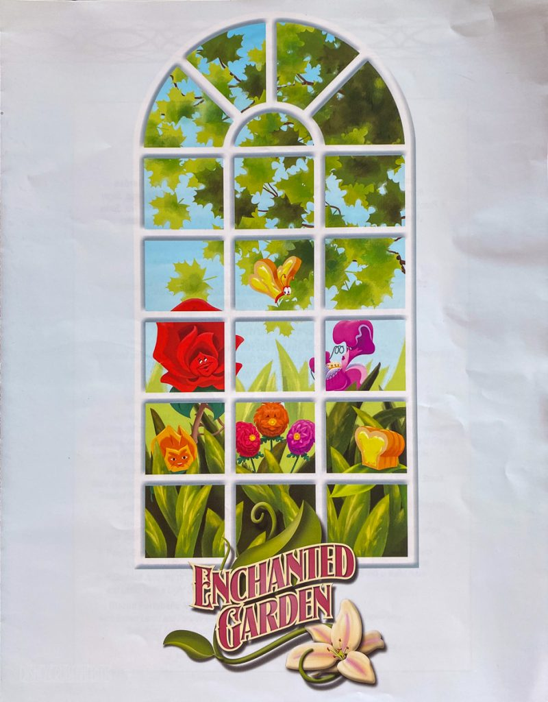 Dream Enchanted Garden Menu 1 August 2021