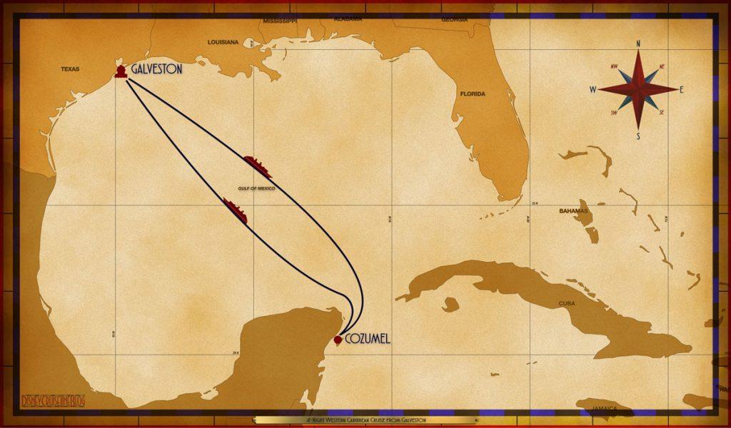 Map Magic 4 Night Western Caribbean GLS SEA CZM SEA