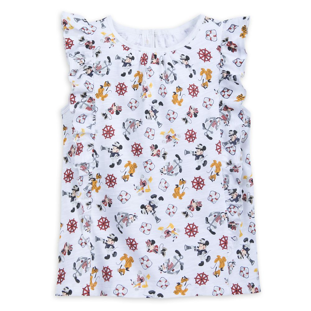 ShopDisney Mickey Mouse And Friends Disney Cruise Line Tank Top For Girls