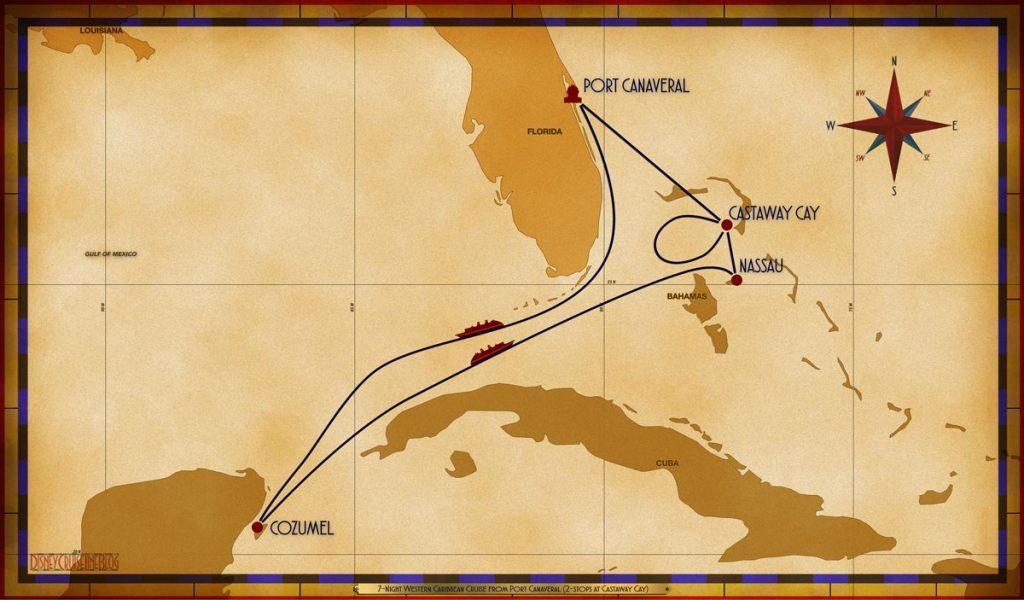 Map Fantasy 7 Night Western Caribbean PCV SEA CZM SEA NAS GOC GOC