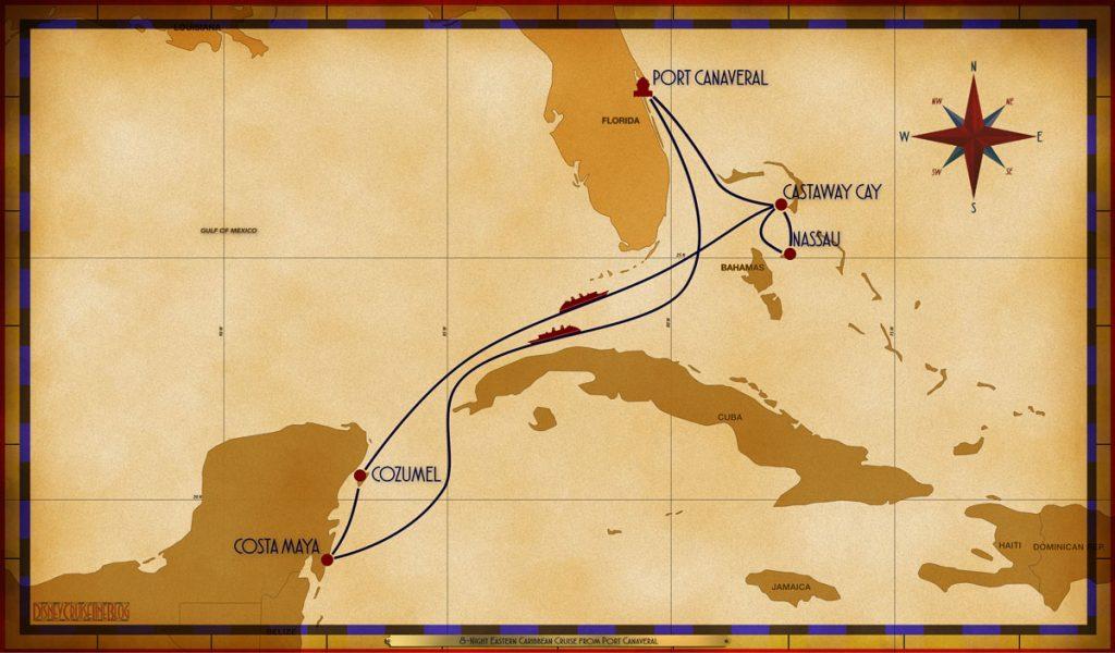 Map Fantasy 8 Night Eastern Caribbean PCV SEA CTM CZM SEA GOC NAS GOC