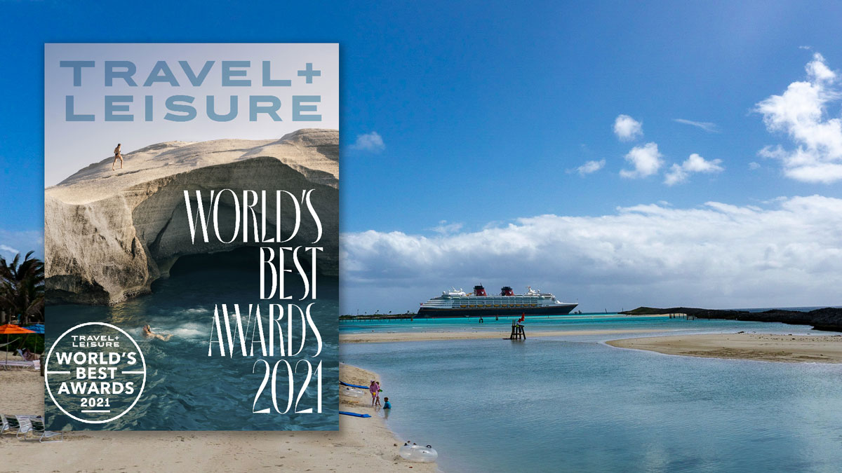 Travel Leisure Worlds Best Awards 2021 Disney Magic Castaway Cay