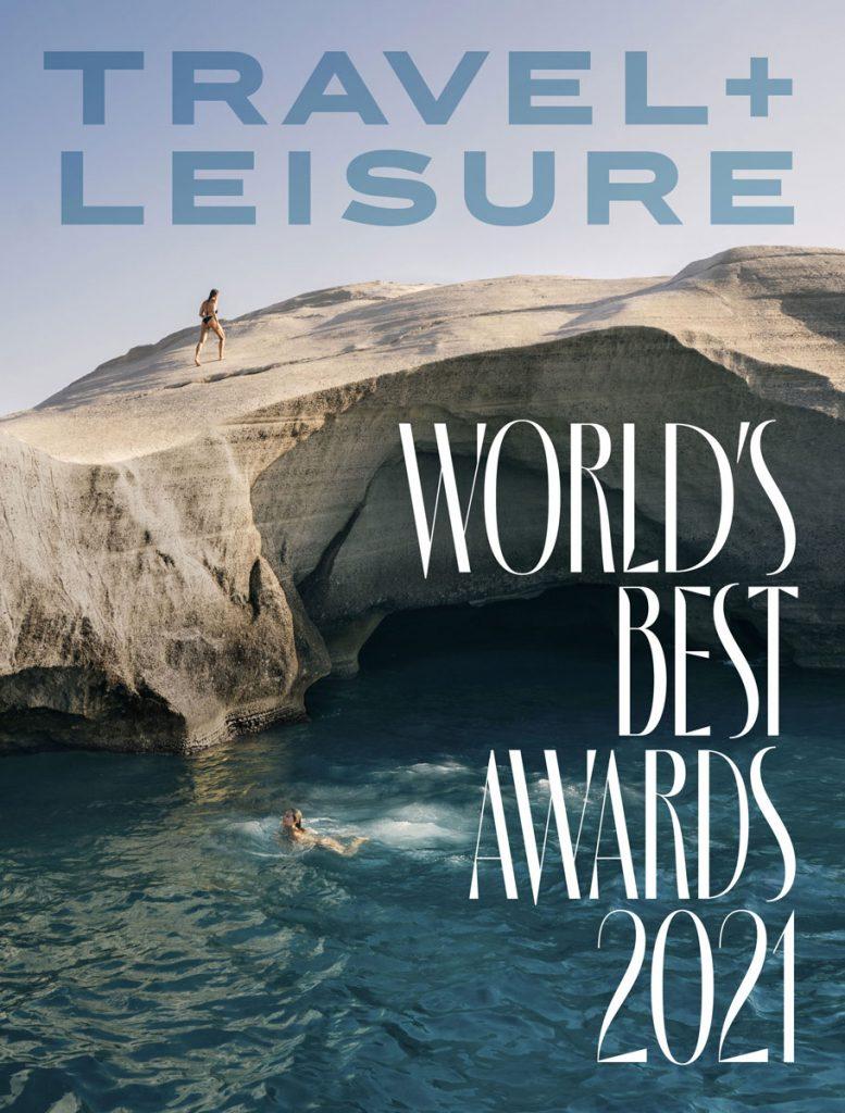 Travel Leisure Worlds Best Awards 2021 October Cover
