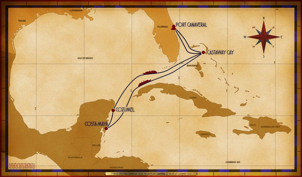 Map Fantasy 7 Night Western Caribbean PCV GOC SEA CZM CTM SEA GOC