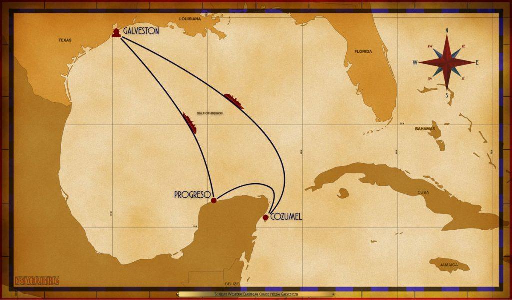 Map Magic 5 Night Western Caribbean GLS SEA CZM PGO SEA