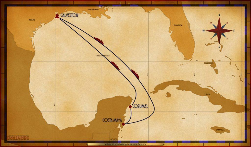 Map Magic 6 Night Western Caribbean GLS SEA CZM CTM SEA SEA