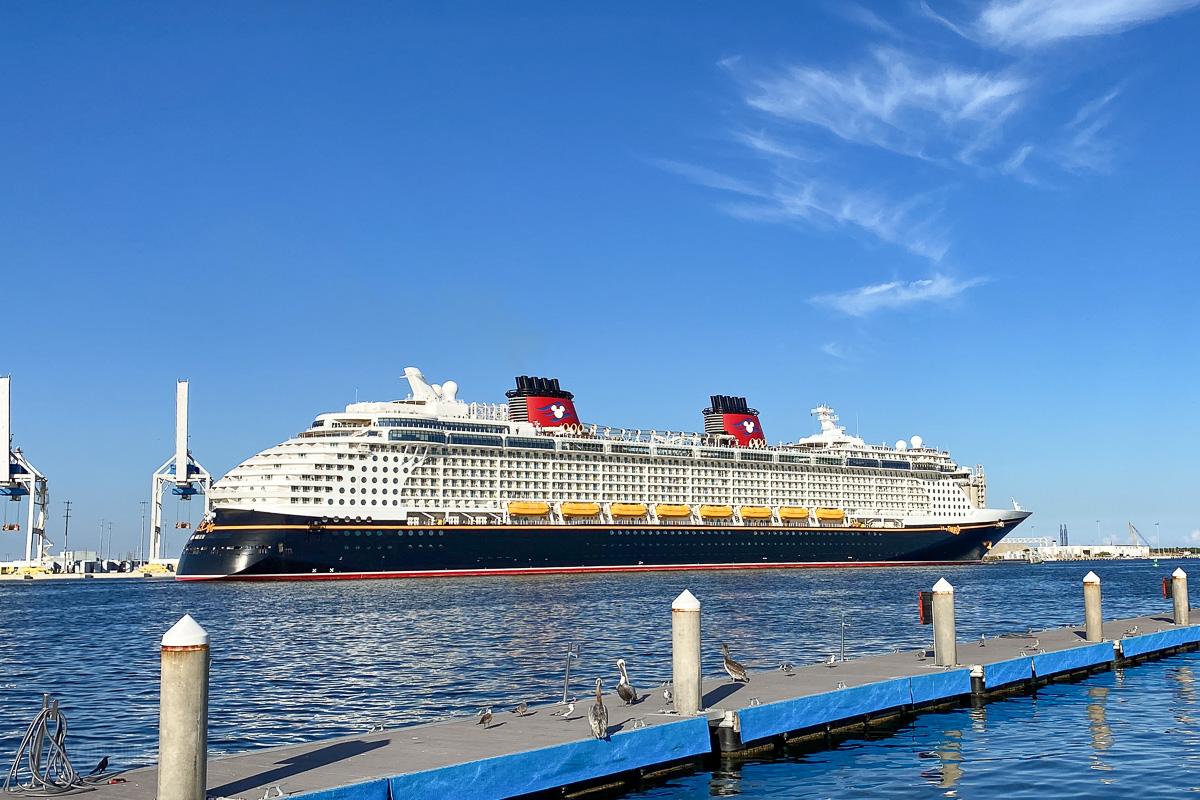 Port Canaveral Disney Fantasy